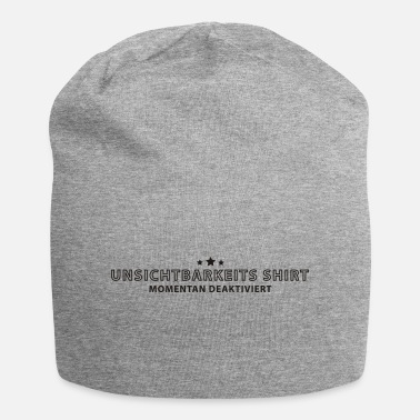 Invisible invisibility shirt - Beanie