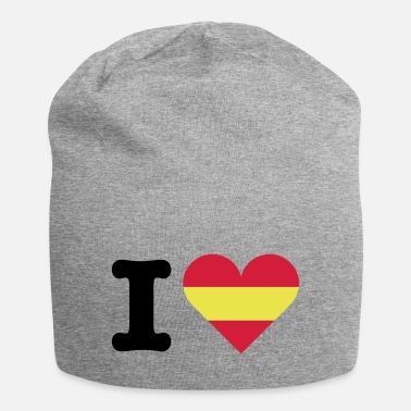 Countires i love spain heart herz - Beanie