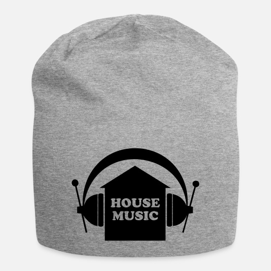 Music Caps & Hats - House music - Beanie heather grey