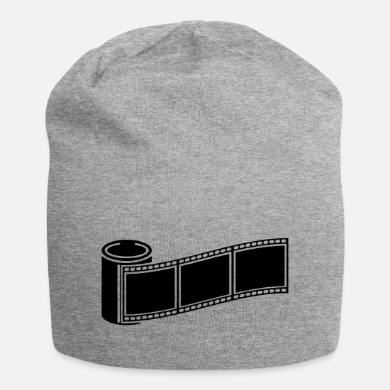 Image Caps & Hats - photo_retro_1_f1 - Beanie heather grey