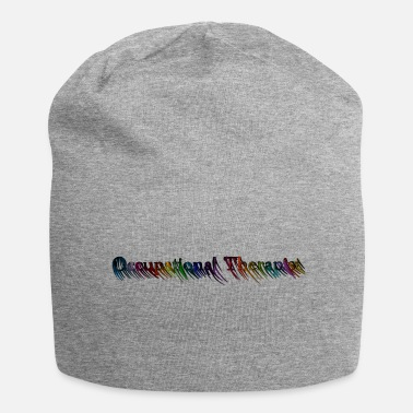 Occupational Therapist rainbow lettering - Beanie