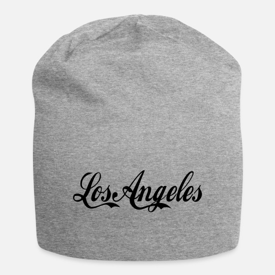 Los Angeles Caps & Mützen - los angeles - Beanie Grau meliert