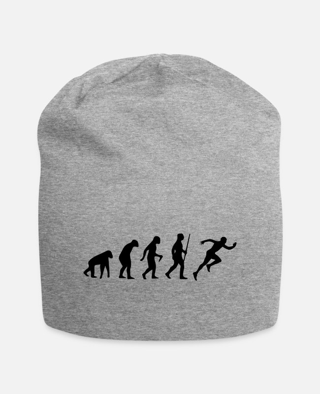 Runner Caps & Hats - SPRINTER EVOLUTION! - Beanie heather grey