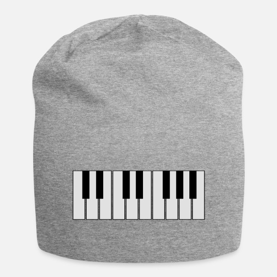 Conductor Caps & Hats - keyboard - Beanie heather grey