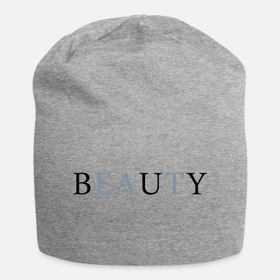 Beautiful Caps & Hats - buy eat beauty - Beanie heather grey