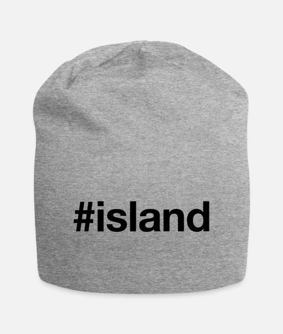 Viking Caps & Hats - ISLAND - Beanie heather grey