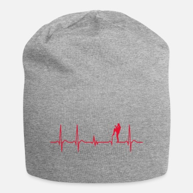 Match Heartbeat MMA Mixed Martial Arts Fighter Gift - Beanie