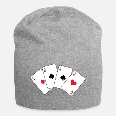 Sport &amp Card Game, Poker, Ace - Beanie