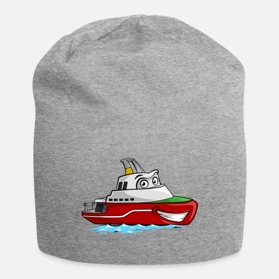Vessel Caps & Hats - Boaty McBoatface - Beanie heather grey