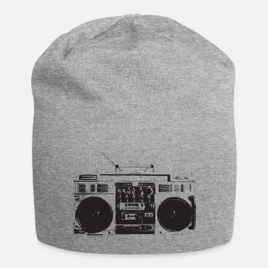 School Ghetto blaster vintage, old school hip hop - Berretto