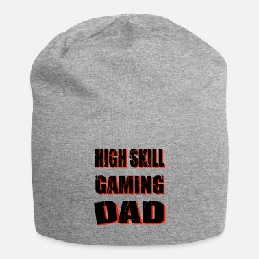 High Skill Gaming DAD, for dads and gamer spells - Beanie