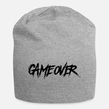 Game Over Game Over - Game End, Gamer Hatescreen - Beanie