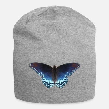 Butterfly in blue with great gradient - Beanie
