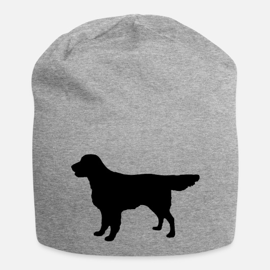 Retriever Petten & mutsen - Flatcoat Retriever Dog - Beanie grijs gemêleerd