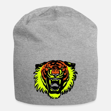 Roaring Tiger Three Colours by Cheerful Madness!! - Beanie