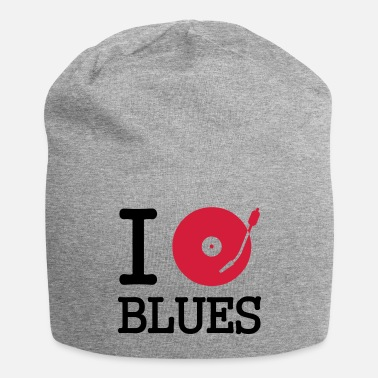 Turntable I dj / play / listen to blues - Beanie-pipo
