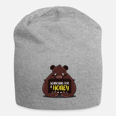 Partner Sweet mouth bear funny honey single partner - Beanie