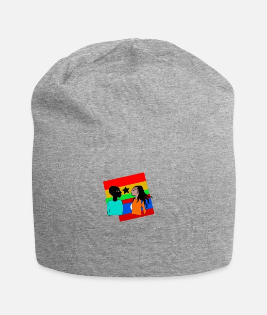 Morocco Caps & Hats - ghana - Beanie heather grey