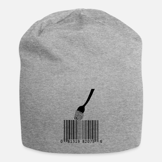 Fork Caps & Hats - Buy spaghetti - Beanie heather grey