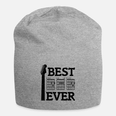 Best Best Dad Ever Shirt DAD Chord Guitarist Father's Day - Beanie