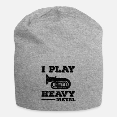Heavy Tuba Marching Band Player Musical Instrument Funny - Beanie