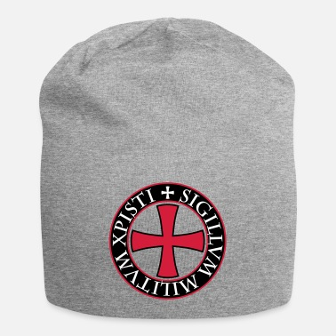 Knights Templar 27 Knights Templar Cross saying Middle Ages - Beanie