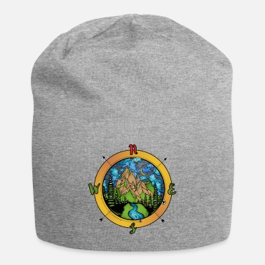 Compass and nature compass - Beanie