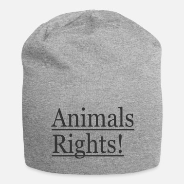 Animal Rights Animals Rights! - Beanie