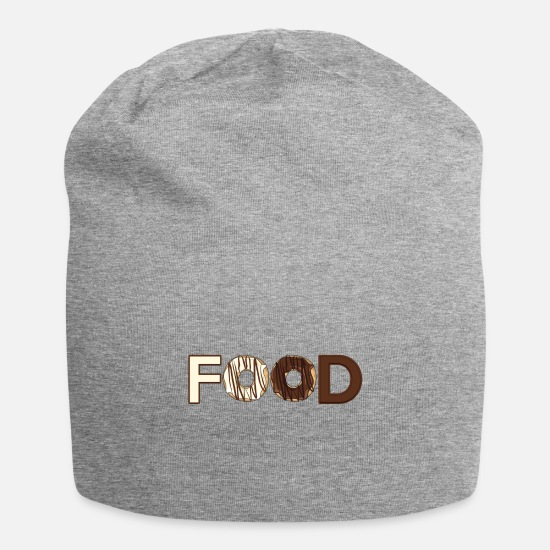 Love Caps & Hats - Food - Beanie heather grey