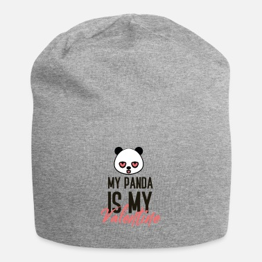 Valentine's Day My Panda is my Valentine gift couple love - Beanie