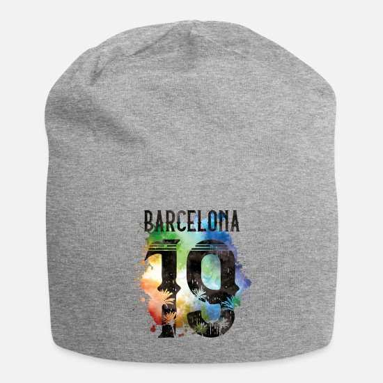 2019 Caps & Hats - barcelona 19 colorful - Beanie heather grey
