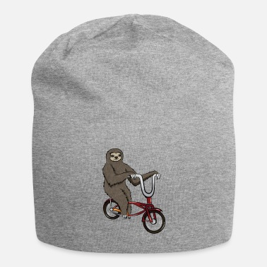 Animals Sloth with bicycle, gift cycling animal - Beanie
