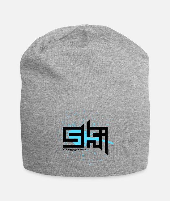 Sport Caps & Hats - SKI PASSION cool textiles, gifts for everyone - Beanie heather grey