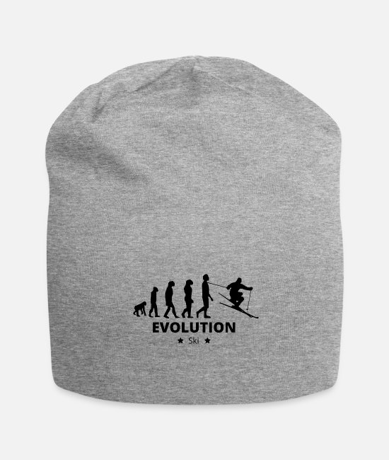 Ski Caps & Hats - Evolution Ski - Beanie heather grey