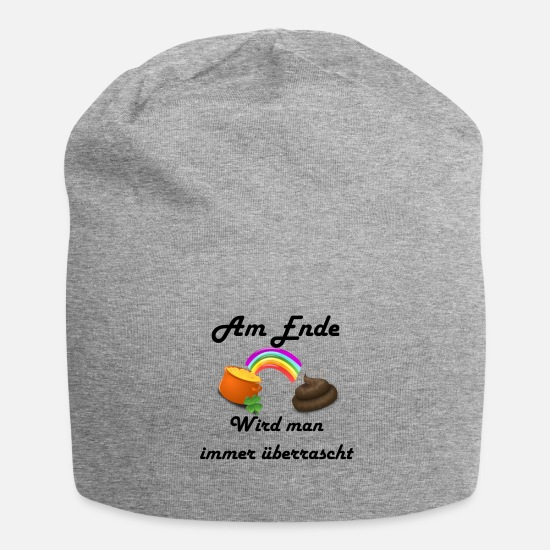 Surprise Caps & Hats - The surprise in the end - Beanie heather grey