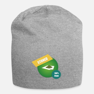 Hemp Grass hemp pothole kiffen hemp leaf stoned dope join - Beanie