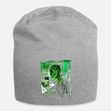 Drugs Geek Ordi Smoke Psychedelique Green Geek - Beanie