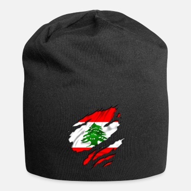 Country Flag Football Sport And Arab Art Jesus country flag lebanon - Beanie