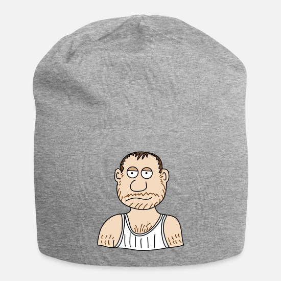 Tv Caps & Hats - Unemployed - Beanie heather grey