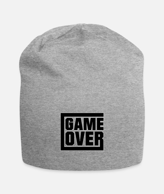 The Gameslave Caps & Hats - Game over - gaming - Beanie heather grey