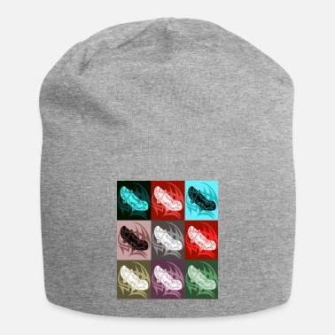 skateboards colorful - Beanie