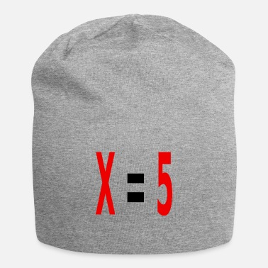 Variable Not Found x equals 5 v2 black - Beanie