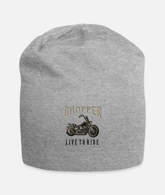 Motocycle Caps & Hats - chopper - Beanie heather grey