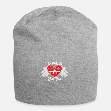 I'D PAUSE MY GAME FOR YOU VALENTINES VALENTINE - Beanie