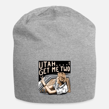 Quote Utah Get Me Two TShirt, 1980s movie Quote Shirt - Beanie