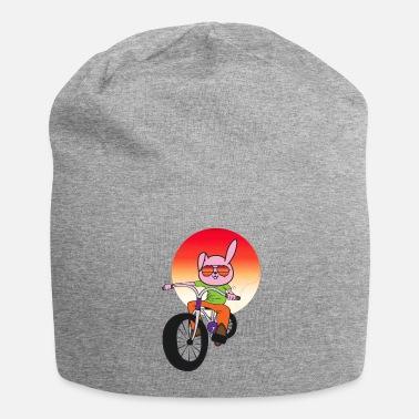 Hase auf Fahrrad Häschen Kind Kinder Child Kid Buttons klein