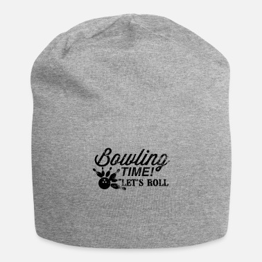 Bowling Bowling Time Let's Roll design Gift For Vintage - Beanie