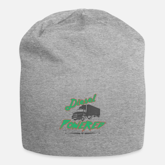 Diesel Caps & Hats - Diesel Powered with Diesel Fired Shirt - Beanie heather grey