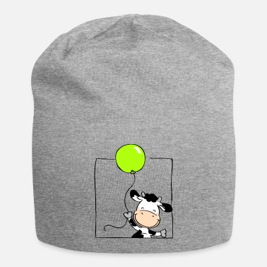 Personalise Cow with Balloon - Beanie