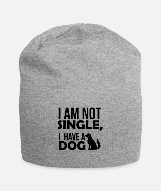 Dog Owner Caps & Hats - Forgive - Beanie heather grey